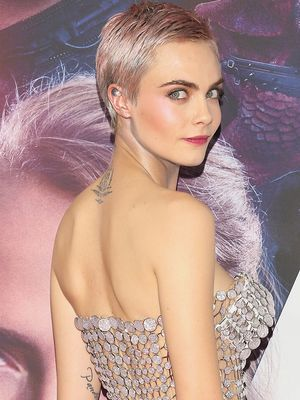 Cara Delevingne's Naked Minidress Must Be Seen From Every Angle