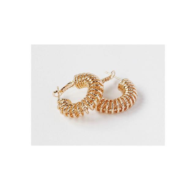 Reliquia Spiral Hoop Earrings