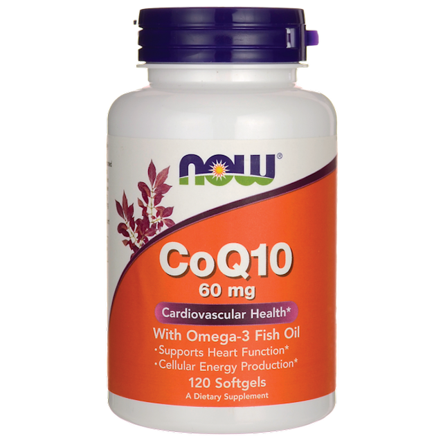 Now Foods Fish Oil and CoQ10  Softgels