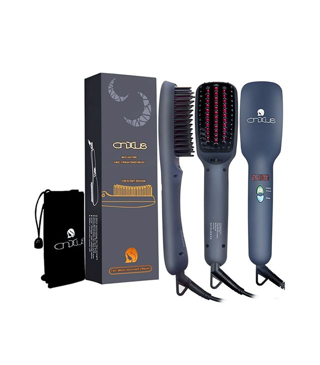 Ceramic Hair Straightener Electric Brush