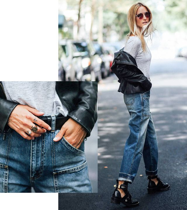 In contrast with the tight, hip-hugging denim of the early 2000s, the '90s were all about lived-in, looser-fitting jeans. Think relaxed (if not baggy) denim inevitably teamed with boxy...