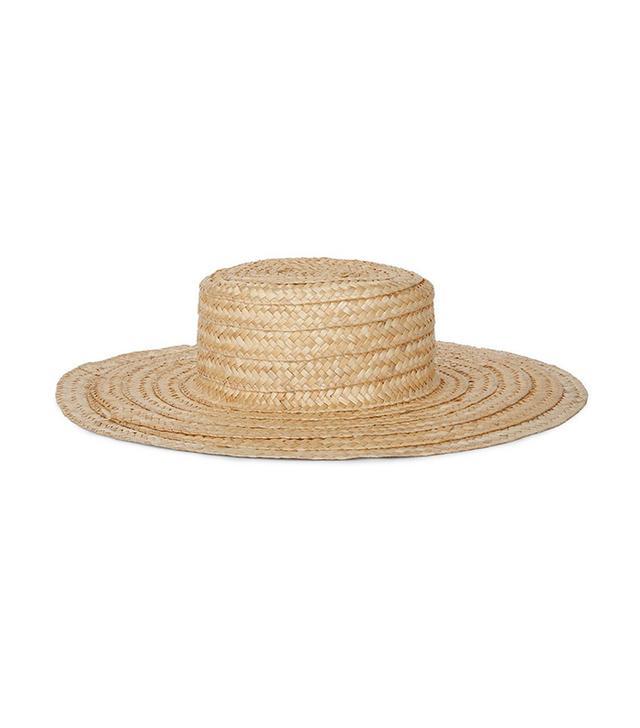 Nanushka Amaya Straw Hat