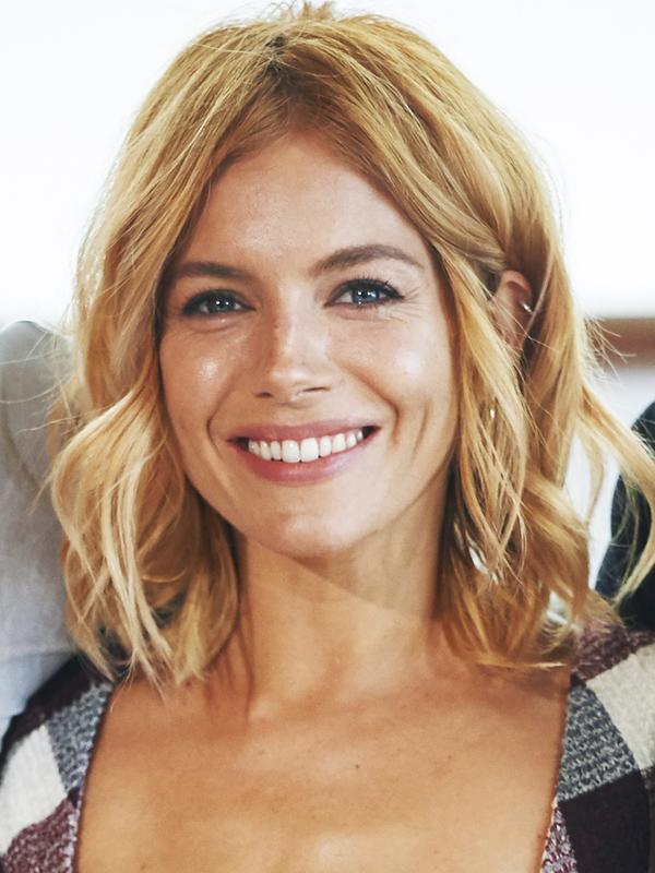 Shoulder-Length Hairstyles: Sienna Miller Boho Waves