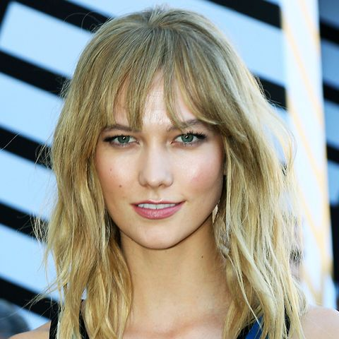 Shoulder-Length Hairstyles: Karlie Kloss With Textured H