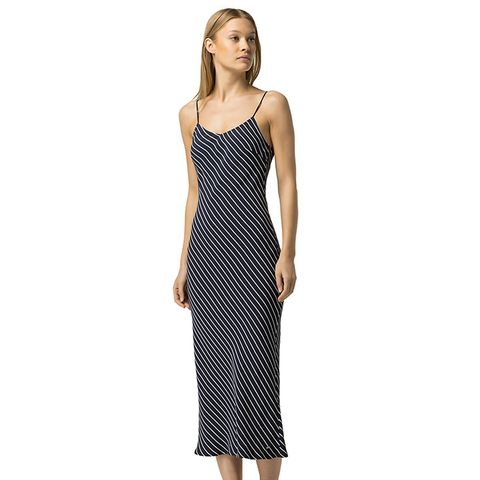 Stipe Slip Dress