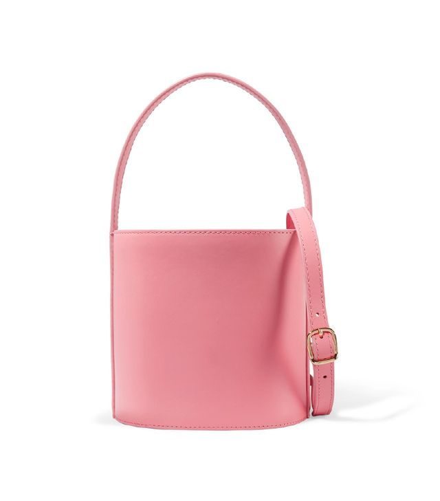 Bissett Leather Bucket Bag