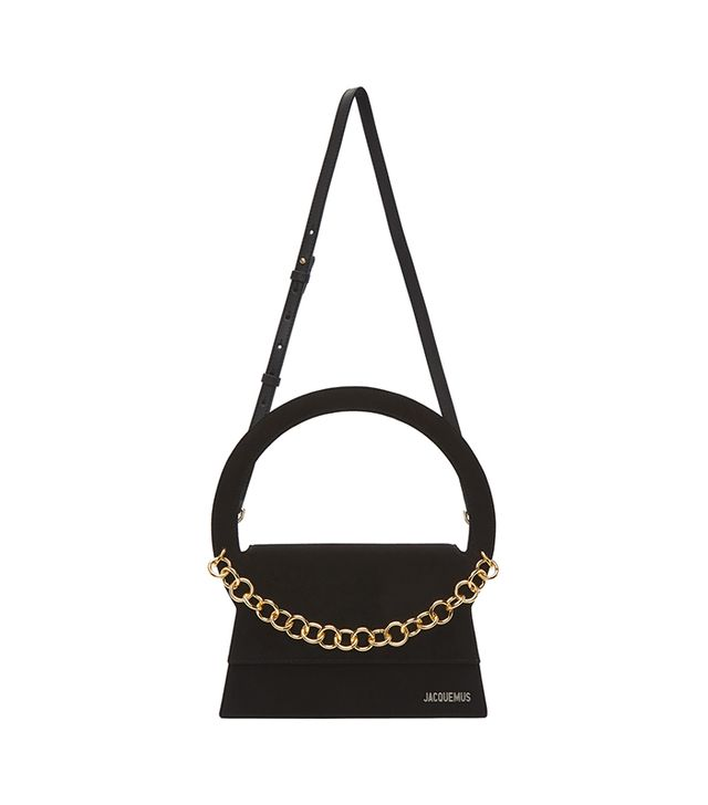 Jacquemus Black Le Sac Rond Bag