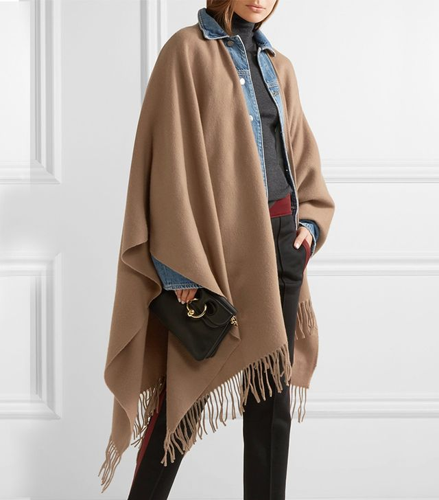 Fringed Wool Wrap