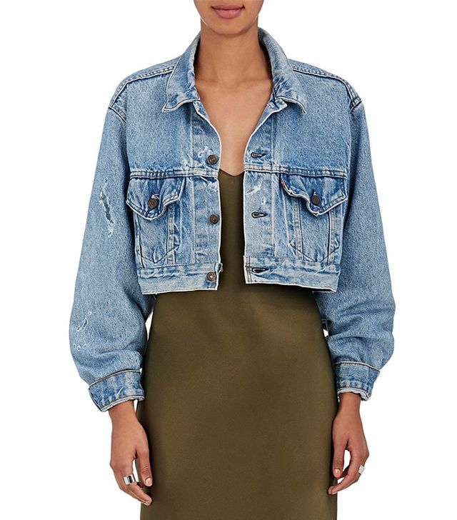 Women's Denim Crop Jacket