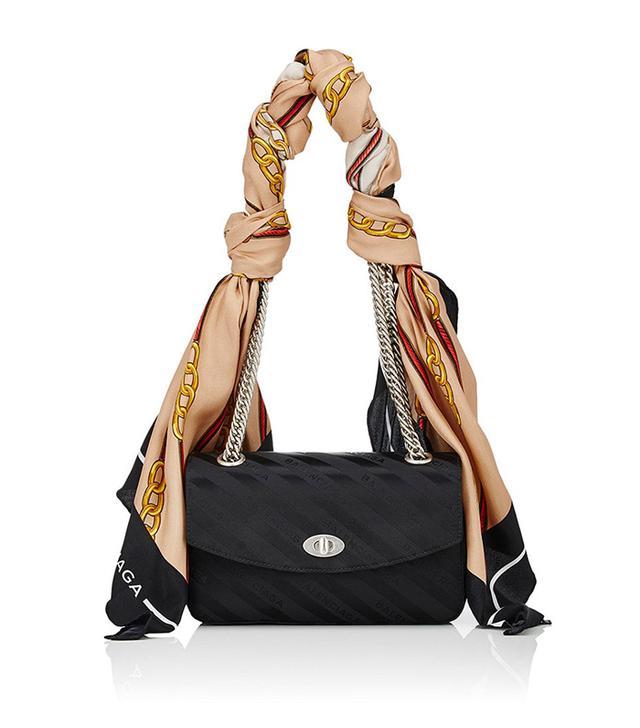 Women's Lock Small Shoulder Bag