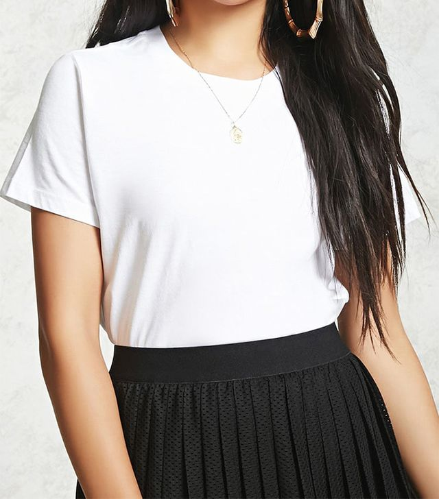 Forever 21 Cotton Boxy Tee