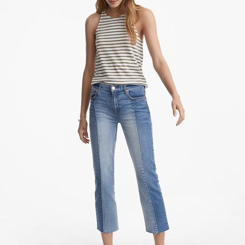 Seamed Crop Jeans