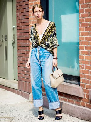 This Crazy Jean Trend Is Secretly Blowing Up