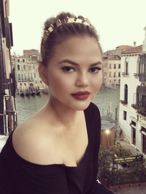Chrissy Teigen Wore the Chicest Look to the Opera in Italy