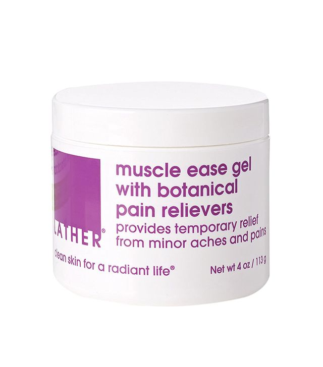 lather muscle ease gel - sore muscle
