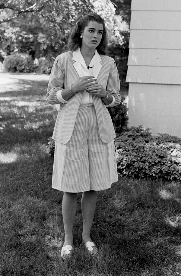 Brooke Shields, 1984