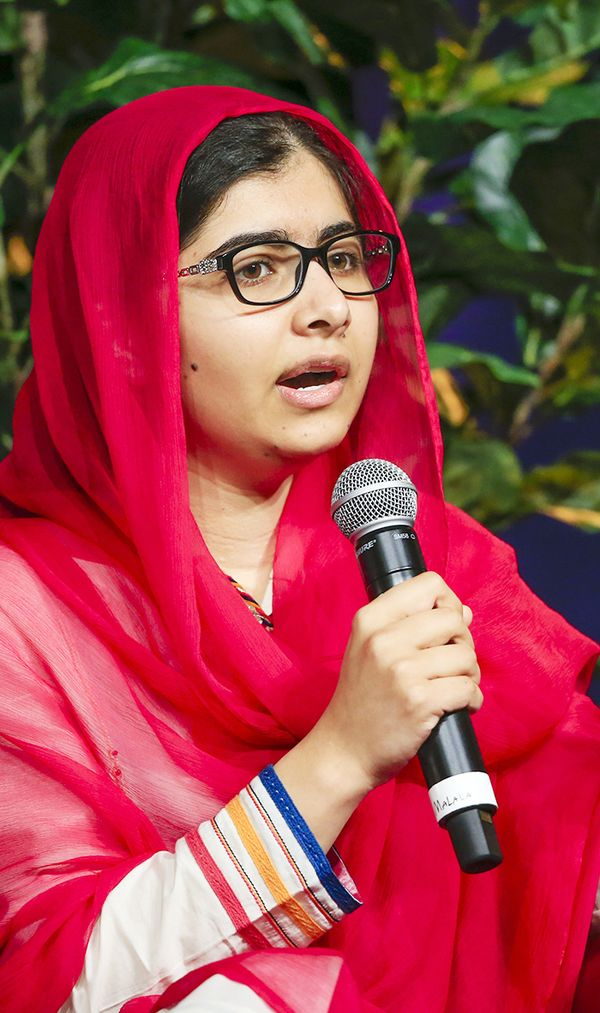 """I raise up my voice—not so I can shout but so that those without a voice can be heard … We cannot all succeed when half of us are held back."" — Malala Yousafzai, activist,..."