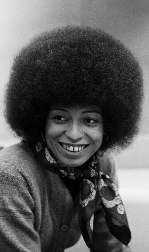 """I am no longer accepting the things I cannot change. I am changing the things I cannot accept."" — Angela Davis, activist, academic"