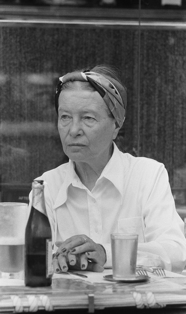 """One is not born, but rather becomes, a woman."" — Simone de Beauvoir, philosopher, author of The Second Sex"