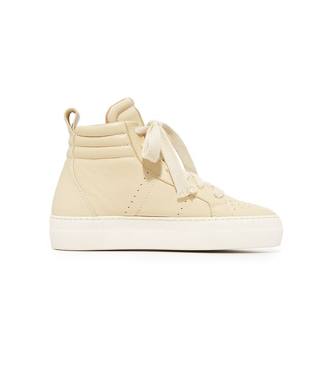 Padded High Top Sneakers