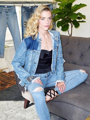 Jaime King Found Her Favorite Jeans by Borrowing Lana Del Rey's