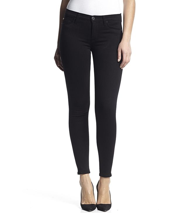 Hudson Nico Midrise Supermodel Super Skinny in Black