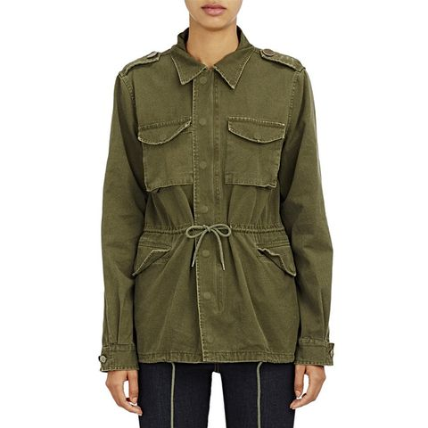 Canvas Army Jacket