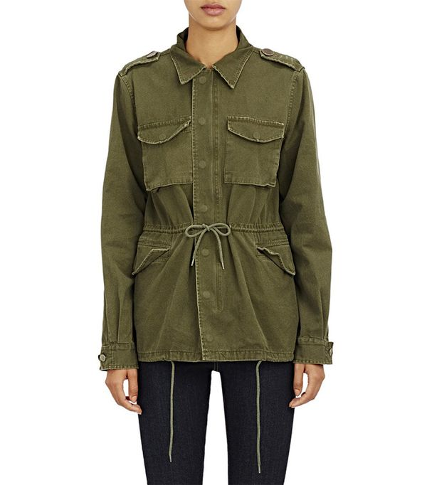 Women's Canvas Army Jacket