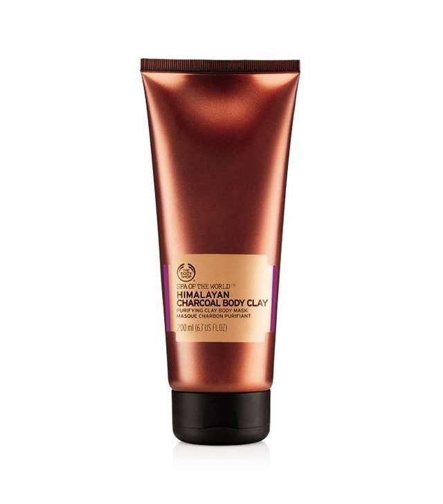 How to remove fake tan: The Body Shop Spa Of The World Himalayan Charcoal Body Clay