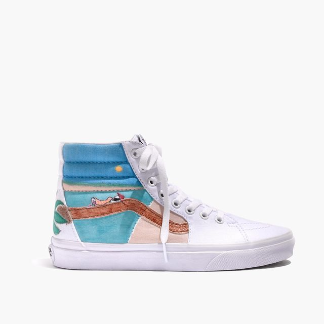 Madewell x Unfortunate Portrait Hand-Painted Vans