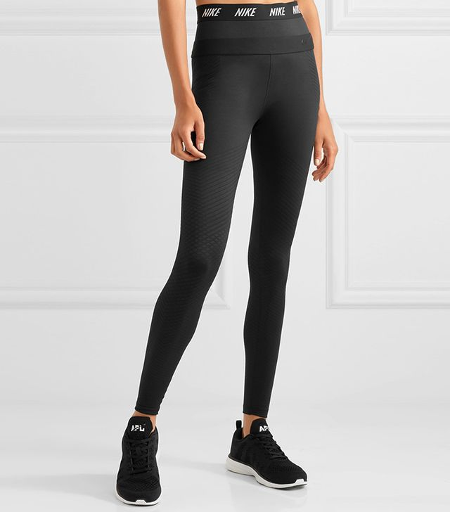 Zonal Strength Stretch-jersey Leggings