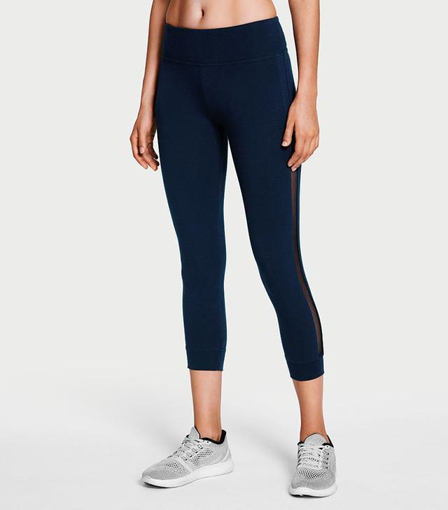 Victoria Sport Anytime Cotton Banded Capri Leggings