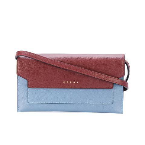 Color Block Clutch Bag