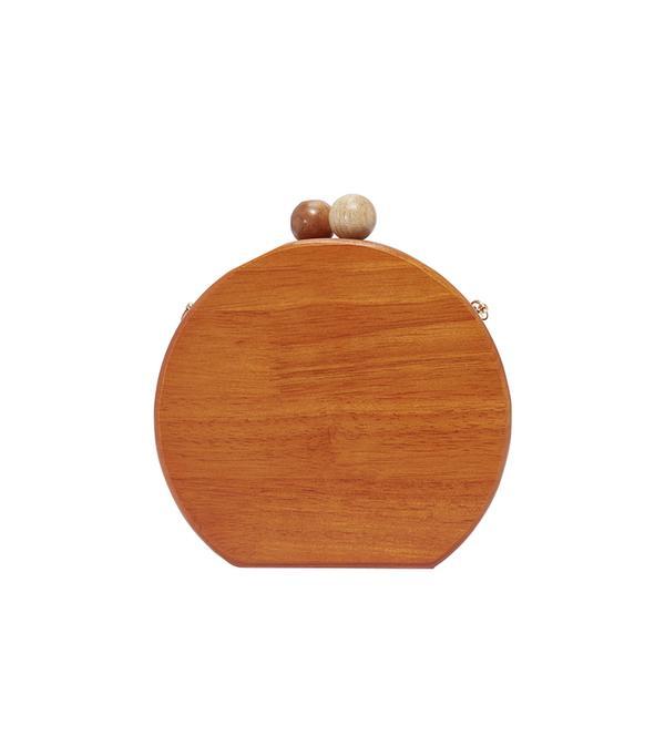 wood handbag