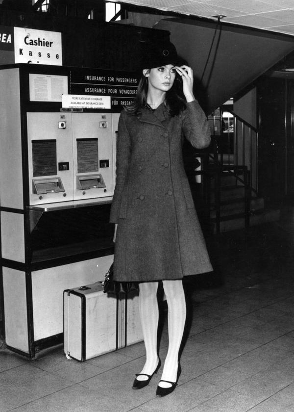 Fashion Model Jean Shrimpton Style