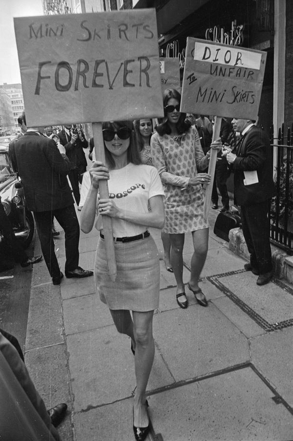 September 12, 1966 British Society for the Protection of Mini Skirts