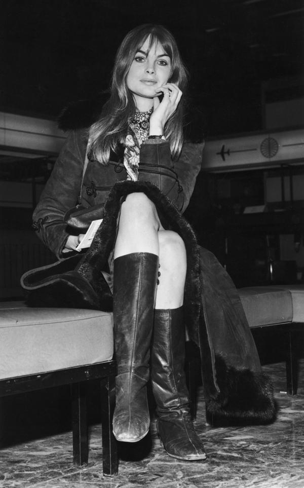 Jean Shrimpton fashion January 8, 1968