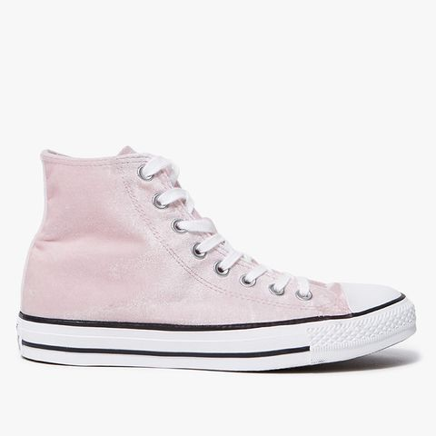 High-Top All Star Sneakers in Arctic Pink/White