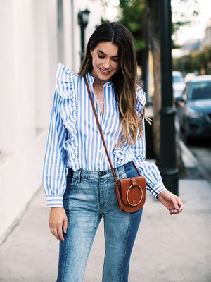 This Blogger's Entire Outfit Costs $125 (Including Her Purse)
