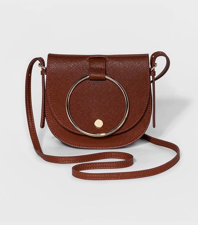 Who What Wear Ring Mini Crossbody Handbag