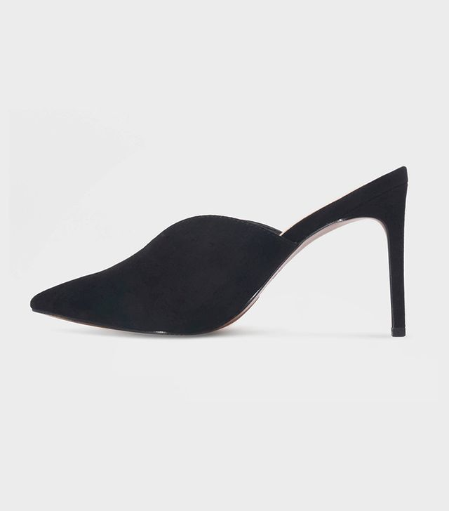 Who What Wear Matilda Dip Front Heeled Mules