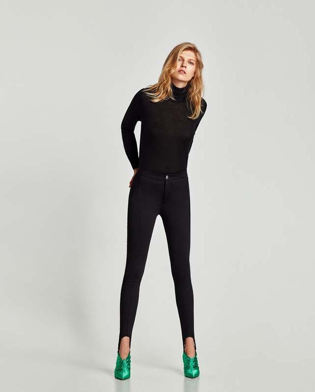 Zara High Waist Fuseu Leggings