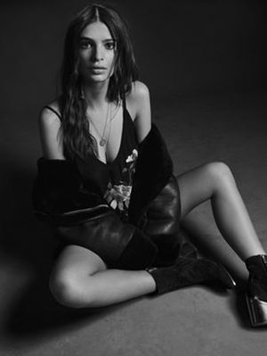 Emily Ratajkowski Wears the Perfect Fall Ankle Boots in Her New Campaign