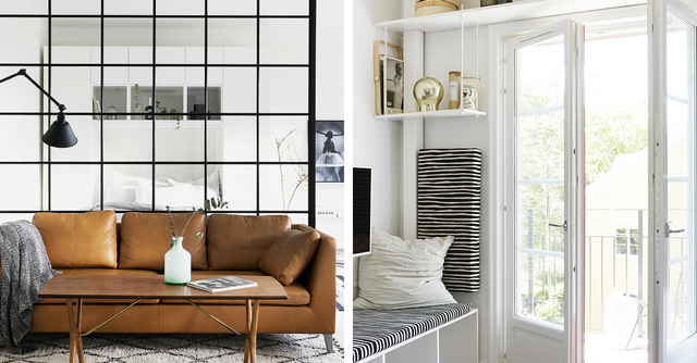 Small Space Decorating Tricks: IKEA Small-Space Design Tricks Stylists Swear By