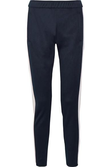 Stretch-piqué Track Pants