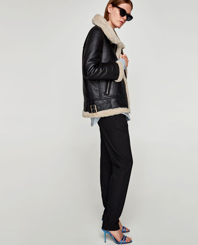 Zara Aviator Jacket