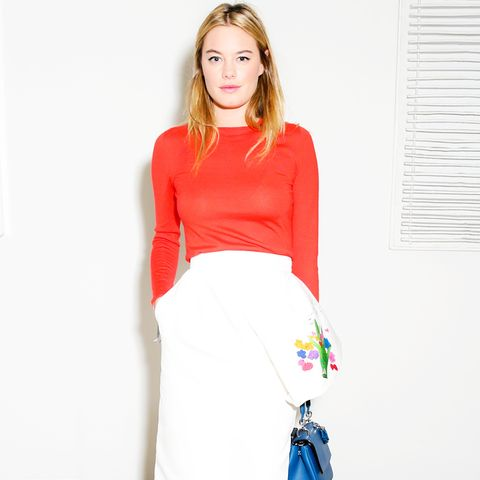 Camille Rowe Style