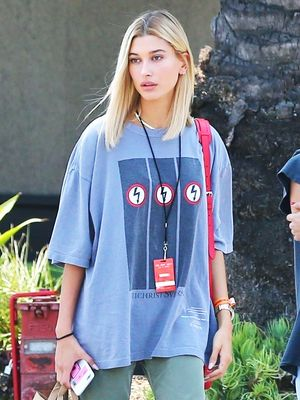 Hailey Baldwin Can't Stop Wearing These Under-£200 Sock Boots