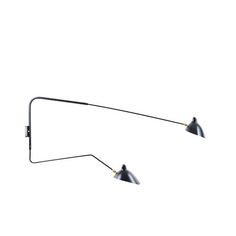 Two-Arm Wall Sconce