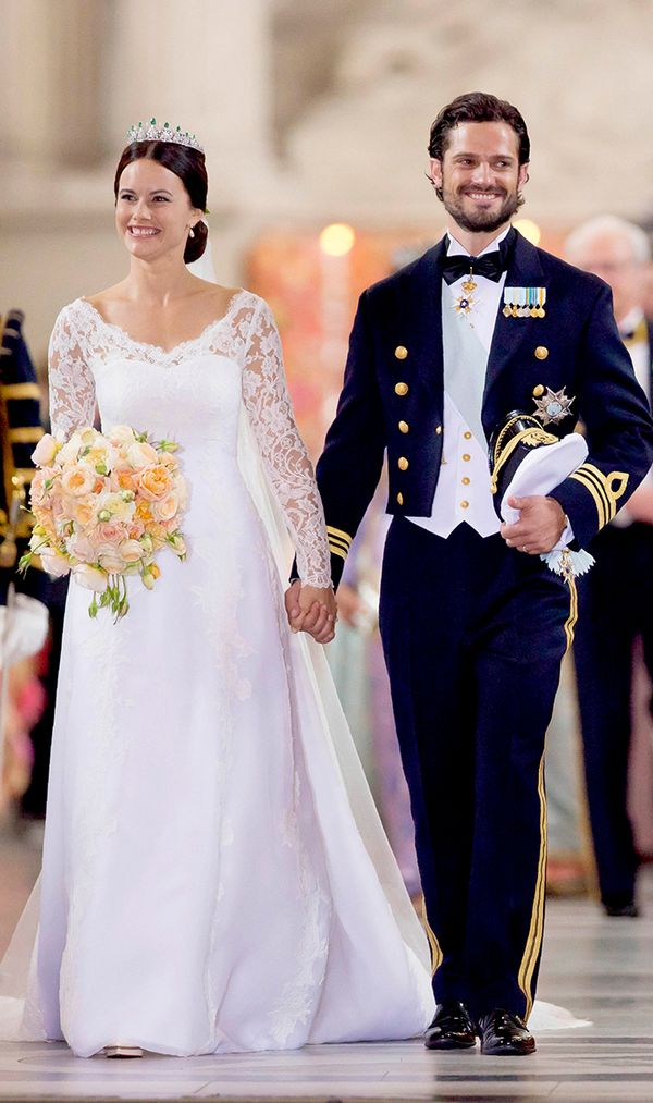 Princess Sofia of Sweden wedding dress
